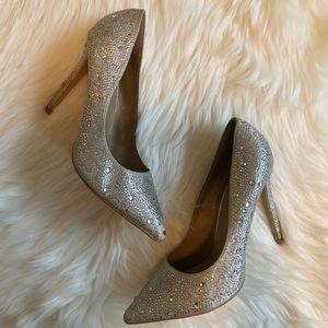 Delicacy Glitter Heels